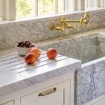 marble farmhouse sink