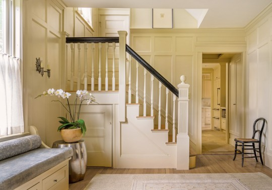 Colonial Revival staircase