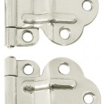 The 'McDougal' Art Deco-period offset cabinet hinge
