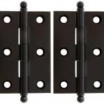 Premium solid brass cabinet hinges